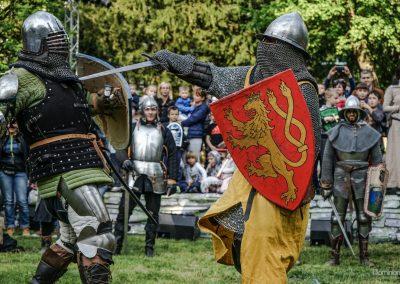 Zagreb, CROATIA – April 22, 2017: ZmaJurjevo Medieval festival