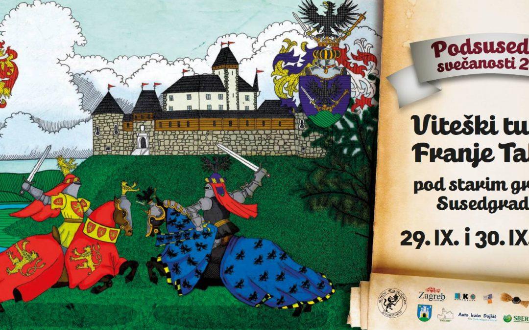 Viteški turnir Franje Tahyja pod starim gradom Susedom 1572./2018.