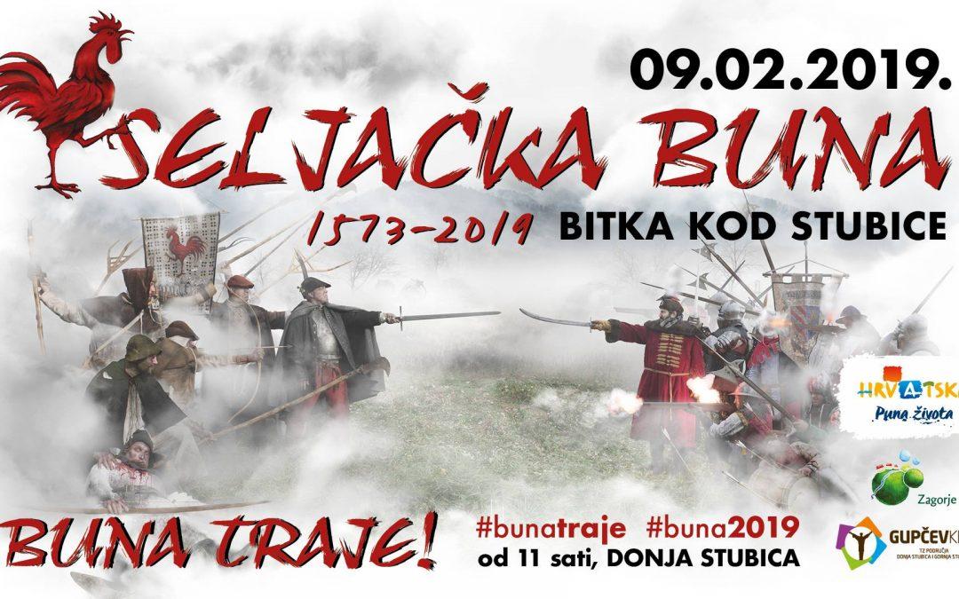 Seljačka buna – Bitka kod Stubice 1573./2019.