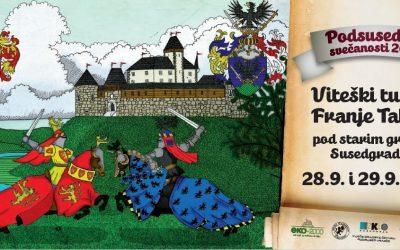 Viteški turnir Franje Tahyja pod starim gradom Susedom 1572./2019.